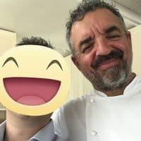 Lo chef Mauro Uliassi 2 Stelle Michelin