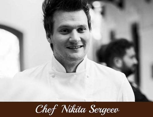 Chef Nikita Sergeev