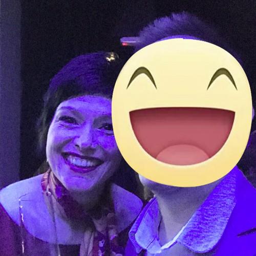 Con la chef Chantel Dartnall (The Best Chef Lady 2017)