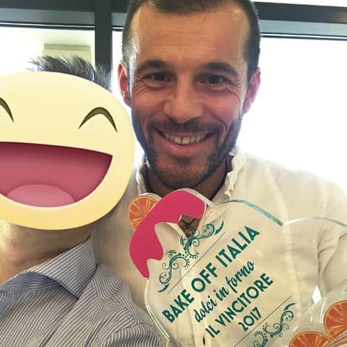 Carlo Beltrami - vincitore del reality Bakeoff 2017