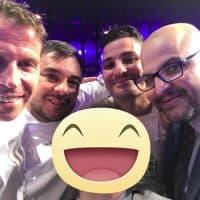 Con Gli Chef Giorgio Diana, Terry Giacomello, Felix Lo Basso, e Il pasticciere Antonio Bachour