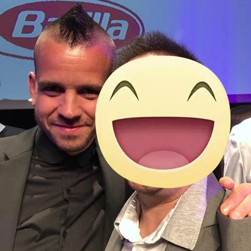 Con Lo chef Spagnolo 3 stelle Michelin David Munoz - Diverxo