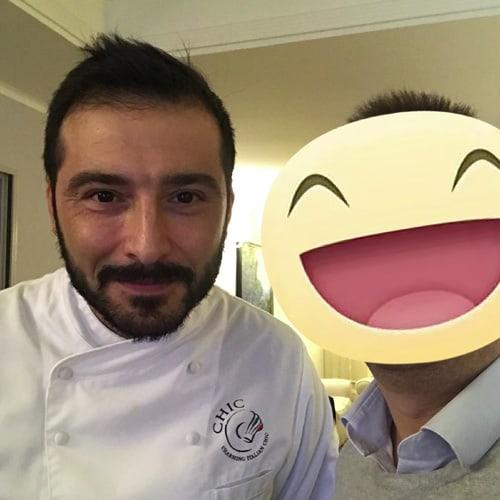 Chef Antonio Danise - Villa Necchi
