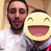 Lo chef Floriano Pellegrino del locale Bros 1 Stella Michelin