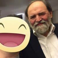 """Lo chef stellato Luciano Tona, ex direttore didattico della scuola di cucina italiana """"Alma"""", e direttore del Bocuse d'Or."""