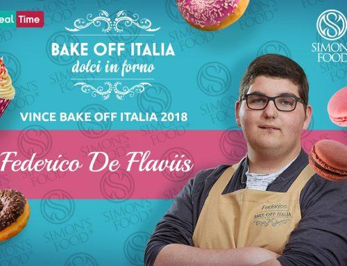Il vincitore di Bake Off Italia 6 è Federico De Flaviis