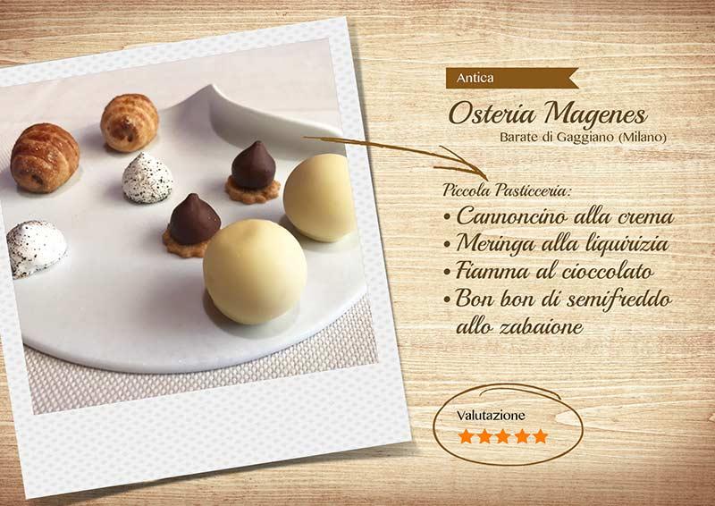 Antica Osteria Magenes Via Cavour, Barate (MI)