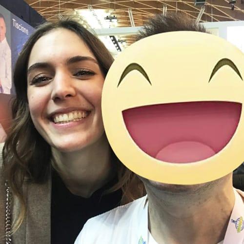 Con la concorrente di Bakeoff2018 Iolanda Casillo