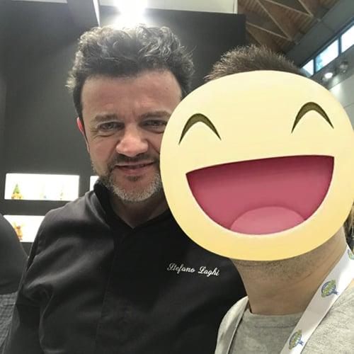 Il pasticciere Stefano Laghi, docente Cast Alimenti
