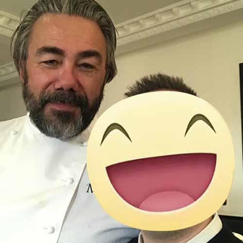 Lo chef Philippe Leivellè - Miramonti L'Altro - 2 Stelle Michelin
