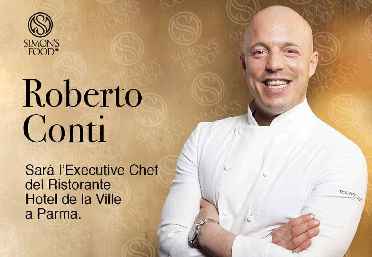Lo Chef Roberto Conti sarà il nuovo Executive Chef del ristorante l'hotel De La Ville a Parma