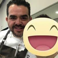 Lo chef Stellato Roy Caceres del ristorante Metamorfosi a Roma