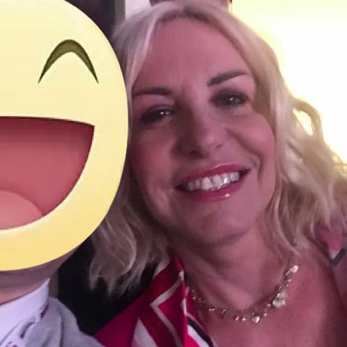 La conduttrice e volto televisivo Antonella Clerici