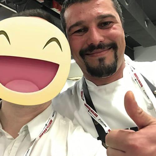 Lo chef Giacomo Devoto del ristorante le Officine del Cibo di Sarzana