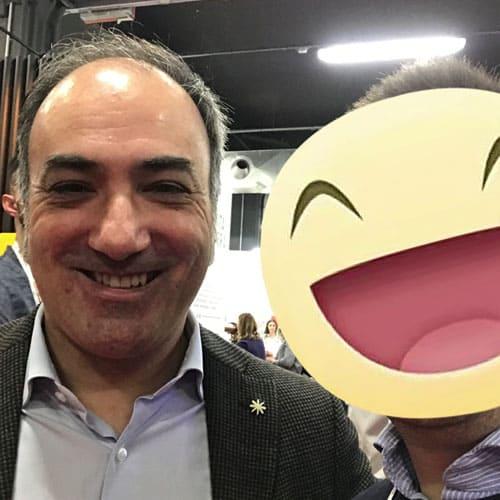 Il fondatore del blog Reporter Gourmet Pietro Pio Pitzalis