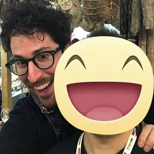Lo chef e vincitore di Hell's Kitchen Italia 2015 Mirko Ronzoni