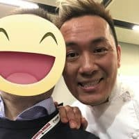Il Sous Chef dell'Osteria Francescana Takahiko Kondo