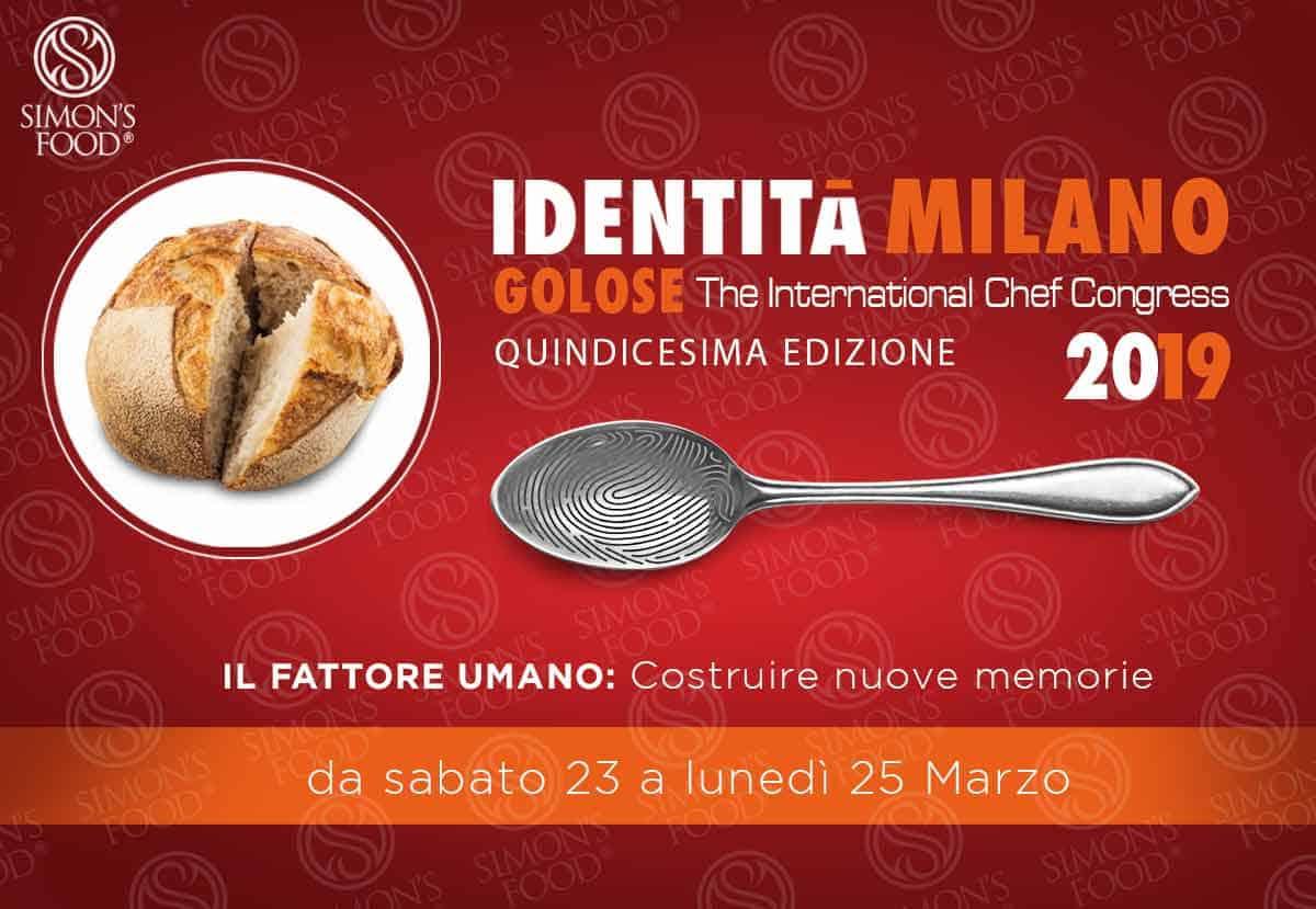"""Identità Golose Milano 2019: """"Costruire Memorie Collettive"""""""