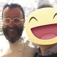La chef Stellato Giancarlo Morelli