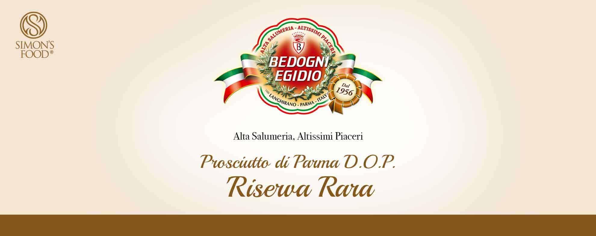 Prosciuttificio Bedogni - Prosciutto di Parma D.O.P.