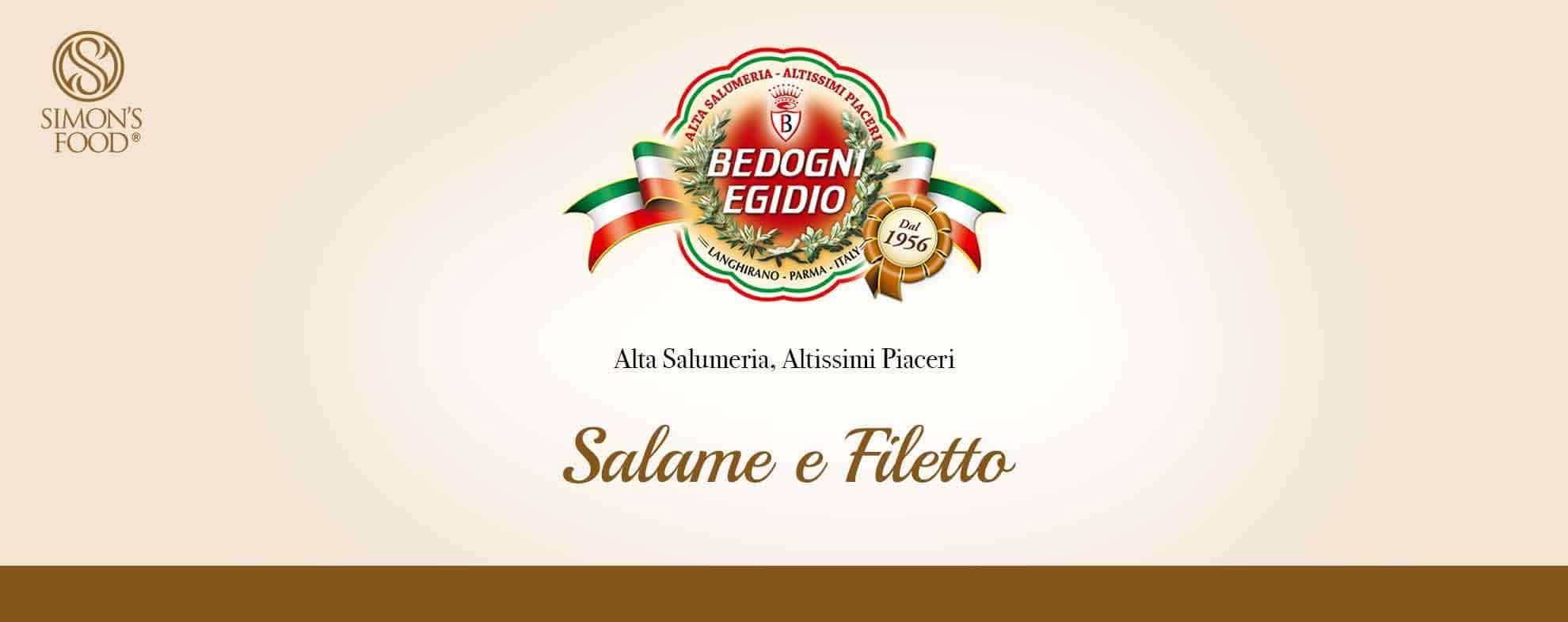 Prosciuttificio Bedogni - Salame e Filetto