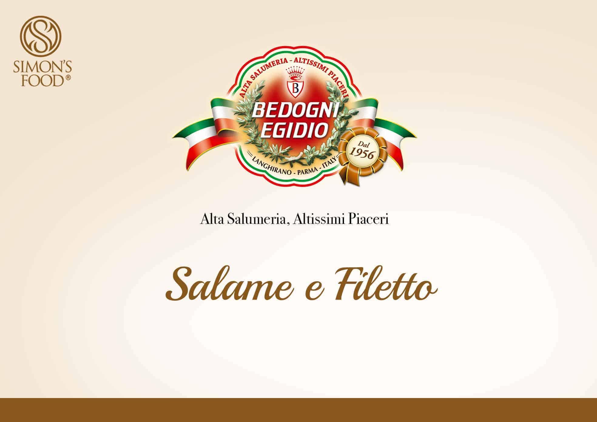 Salame e Filetto - Prosciuttificio Bedogni