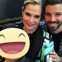 La Conduttrice e volto televisivo Simona Ventura, assieme al presentatore e influencer Luca Ovrezzi