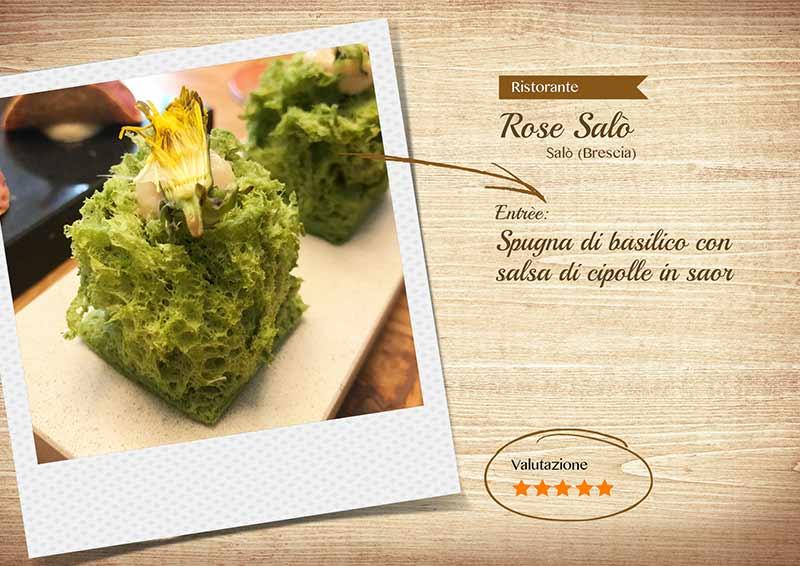 Ristorante Rose Salò - Spugna