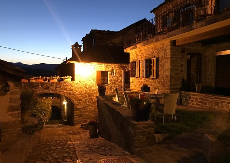 Relais Borgo Casale - notturno