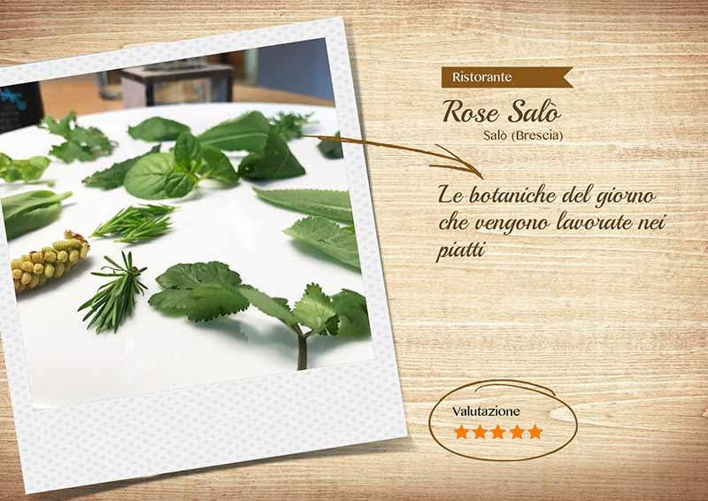 Ristorante Rose Salò - Erbe spontanee