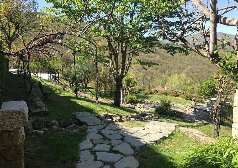 Relais Borgo Casale - giardino