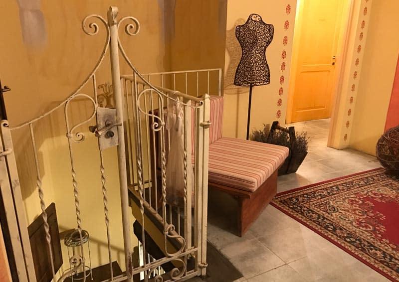 Relais Borgo Casale - ingresso camere