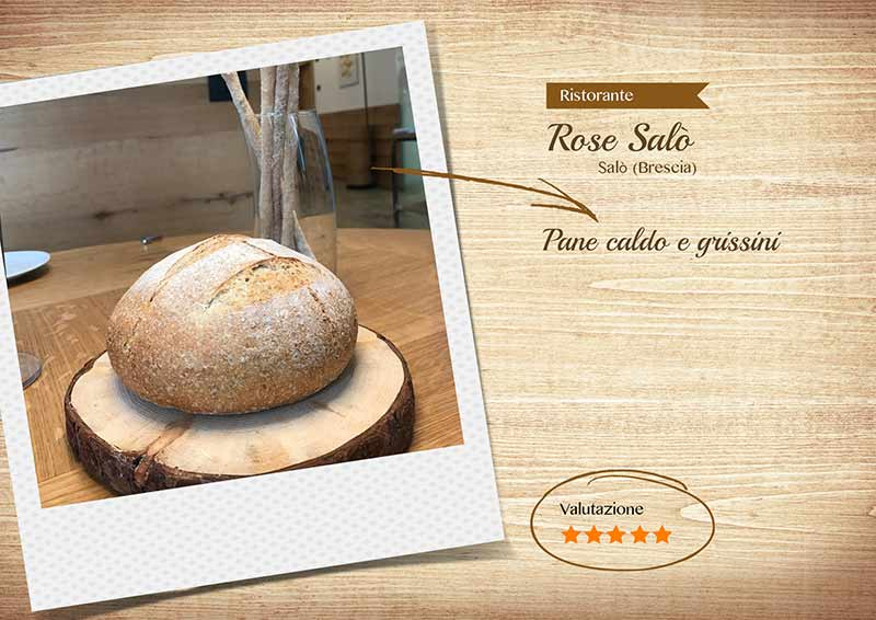 Ristorante Rose Salò - pane