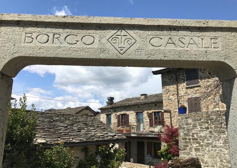 Relais Borgo Casale - Ingresso
