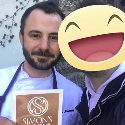 Lo chef Marco Marsili del ristorante Casimiro e Voi c/o Borgo Casale Relais