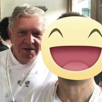 Con il maestro pasticcere Rolando Morandin