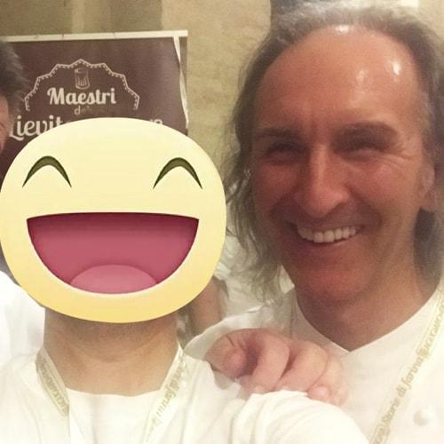 Con il pasticcere Stefano Gatti