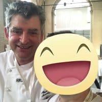 Con il pasticcere Mauro Morandin