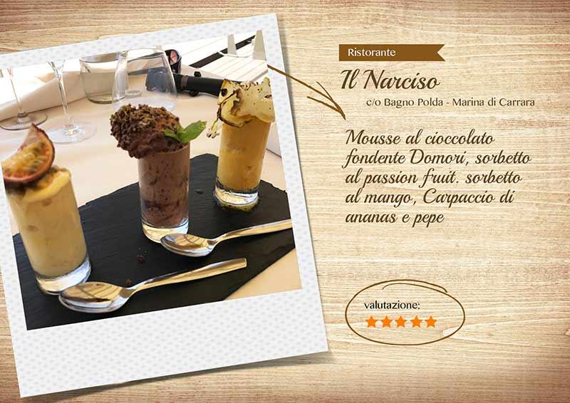 Ristorante Il Narciso -mousseesorbetti