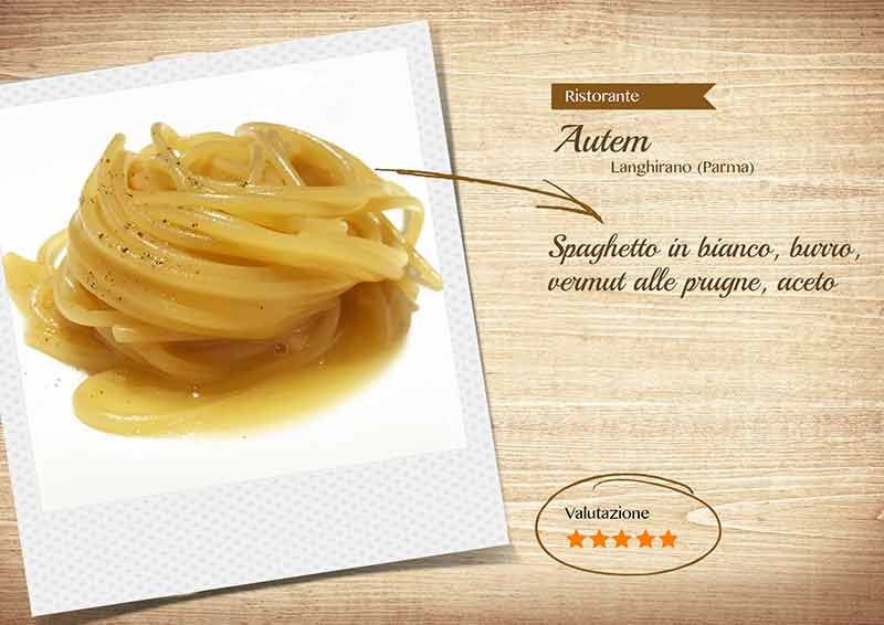 Ristorante Autem - spaghetto