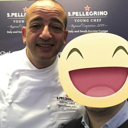 """Lo Chef 2 Stelle michelin Pino Cuttaia del ristorante """"Madia a Licata (Agrigento)"""