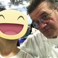 Con il pasticcere Walter Tagliazucchi