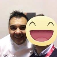 Lo chef Stellato Felix Lo Basso . 1 Stella a Trani e 1 Stella a Milano