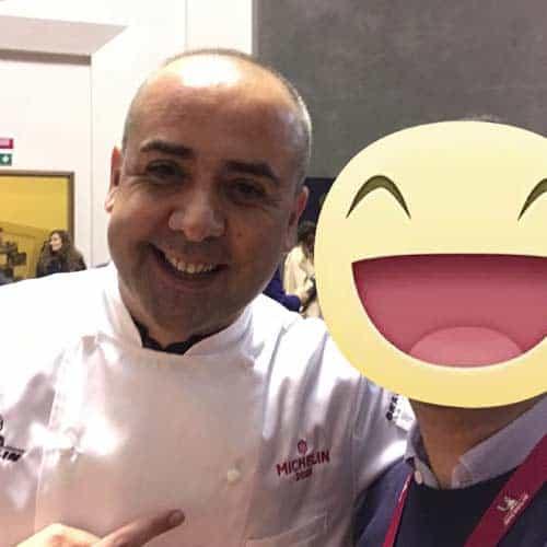 Lo chef Stellato Vincenzo Guarino