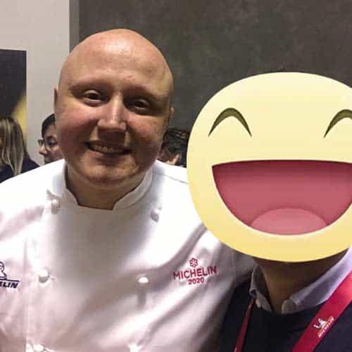 Lo chef Stellato 2020 Giuseppe Raciti