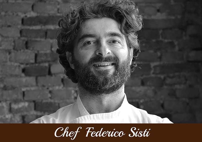 Copertina Chef Federico Sisti