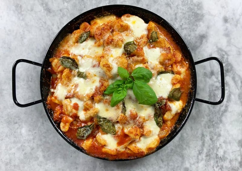 Gnocchi alla pizzaiola - Bongiovanni
