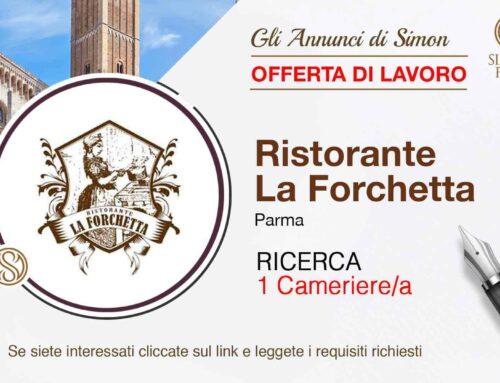 Cercasi Cameriere per Ristorante La Forchetta – Parma