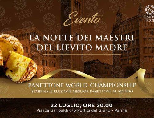 Notte dei Maestri del Lievito Madre – Parma Portici del Grano 22 Luglio 2019