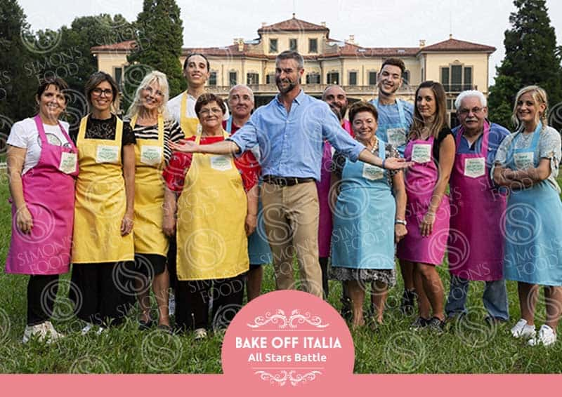 Spin Off bakeoff All Stars Battle - concorrenti